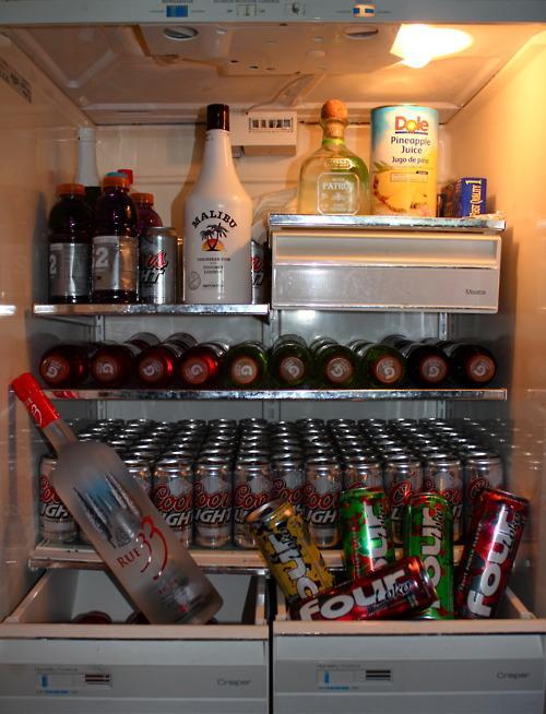 美国人的冰箱里一般都放些什么? 知乎
